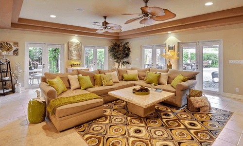 Occupied Home Staging After