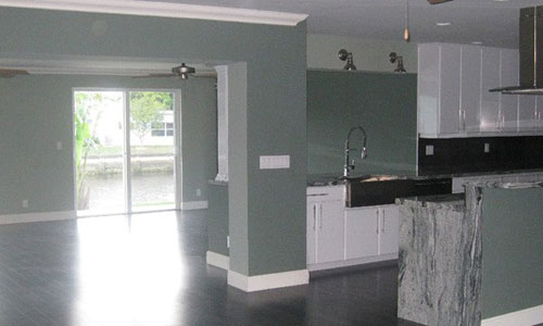 Vacant Home Staging After